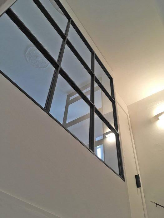 Entrata in vetro e ferro crudo   MENEGATTI LAB