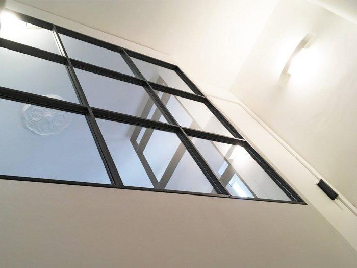 Entrata in vetro e ferro crudo | MENEGATTI LAB