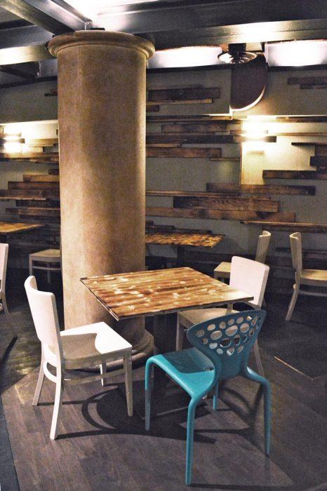 Abete bruciato per un ristorante a Ferrara | MENEGATTI LAB
